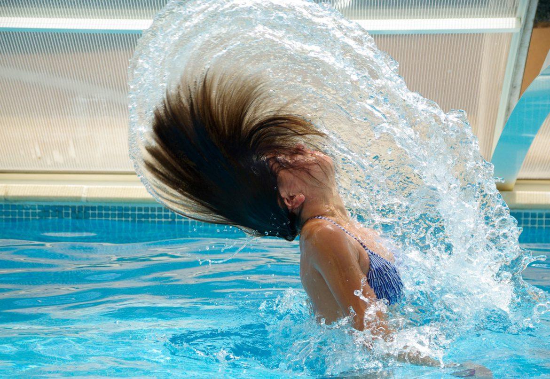 Anti klor shampoo til svømmeren
