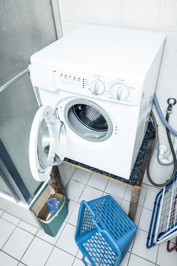 vaskemaskine der bliver brugt flittigt